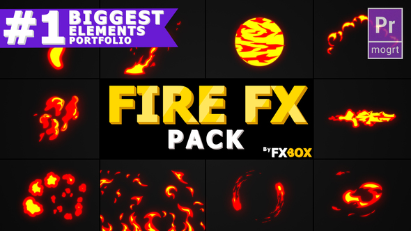 Cartoon Fire FX