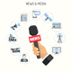 Media and News Concept - GraphicRiver Item for Sale