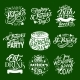 St Patrick Day Irish Traditional Greeting Icons - GraphicRiver Item for Sale