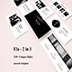 Ela 2 in 1 - Creative Powerpoint Template Bundle - GraphicRiver Item for Sale