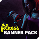 Free Download Fitness and GYM Banner Pack Nulled