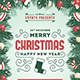 Free Download Christmas New Year Flyer Nulled
