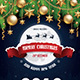 Free Download Merry Christmas & Happy New Year Flyer Nulled