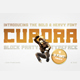Cuadra Block Party Font - GraphicRiver Item for Sale
