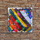 Abstract colorful oil painting - PhotoDune Item for Sale