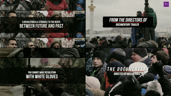 The Documentary – Premiere Pro