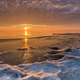 sunrise in winter - PhotoDune Item for Sale