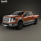 Free Download Nissan Titan Crew Cab Platinum Reserve 2017 Nulled