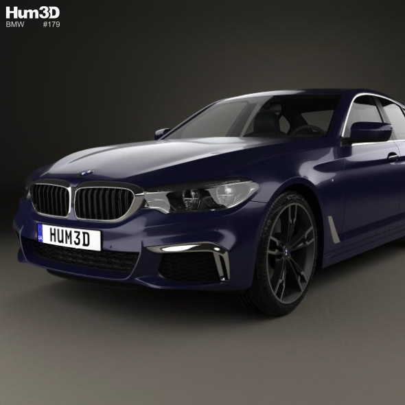 Bmw 5 Series G30 M Performance 2017 By Humster3d 3docean