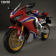Honda CBR1000RR 2017 - 3DOcean Item for Sale