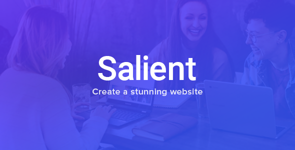 Salient - Responsive Multi-Purpose Theme