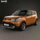 Kia Soul Turbo 2017 - 3DOcean Item for Sale