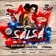 Latin Night Salsa Cubana Party Flyer - GraphicRiver Item for Sale