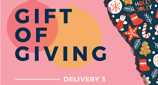 Gift of Giving Freebies - 3rd Delivery