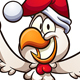 Christmas Chicken - GraphicRiver Item for Sale