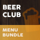 Beer Club / Pub Menu Print Bundle - GraphicRiver Item for Sale