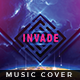 Invade - Music Album Cover Artwork - GraphicRiver Item for Sale