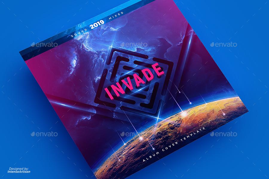 Invade - Music Album Cover Artwork