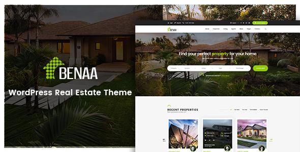 Benaa Real Estate WordPress Theme By G5Theme ThemeForest