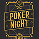 Poker Night Event Flyer - GraphicRiver Item for Sale