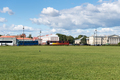 lawn and cityscape in saint petersburg, Russia. - PhotoDune Item for Sale