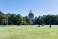 saint petersburg landscape, lawn in front of the St. Isaac Cathedral  , Russia - PhotoDune Item for Sale