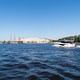beautiful neva river landscape, saint petersburg, Russia - PhotoDune Item for Sale