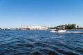 beautiful neva river landscape, saint petersburg, Russia - PhotoDune Item for Sale