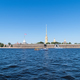 beautiful neva river landscape, peter and paul fortress, saint petersburg, Russia - PhotoDune Item for Sale