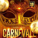Carnevale Di Venezia Party Flyer - GraphicRiver Item for Sale