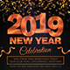 New Year 2019 Flyer - GraphicRiver Item for Sale