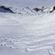 Ski tracks in the snow - PhotoDune Item for Sale