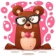 Bear Illustration. Animal Character. - GraphicRiver Item for Sale