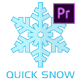 Free Download Snow Maker | Quick Snow for Premiere pro Nulled