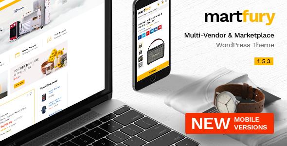 Martfury - WooCommerce Marketplace WordPress Theme Nulled