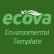Free Download Ecova - Eco Environmental Bootstrap 4 Template Nulled