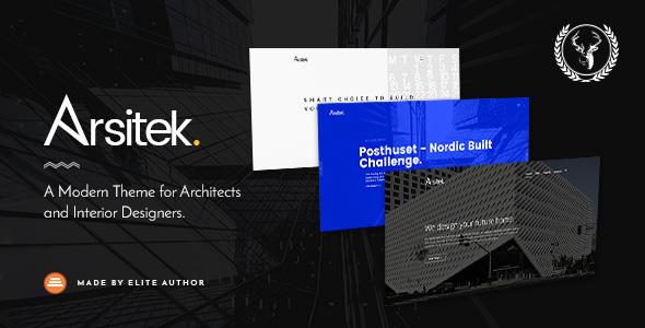 Arsitek   A Modern Theme for Architects and Interior Designers - Portfolio Creative