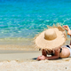 Free Download Woman in bikini on beach Nulled