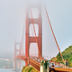 Free Download Golden Gate Bridge view at foggy morning Nulled