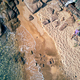 Man in hammock on a beach aerial view - PhotoDune Item for Sale