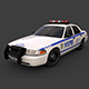 New York Police Car - 3DOcean Item for Sale