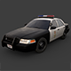 Los Angeles Police Car - 3DOcean Item for Sale