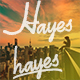 Hayes - GraphicRiver Item for Sale