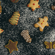 Homemade holiday cookies in Christmas shapes - PhotoDune Item for Sale
