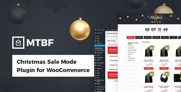 Black Friday / Christmas Sales Mode Plugin for WooCommerce - CodeCanyon Item for Sale