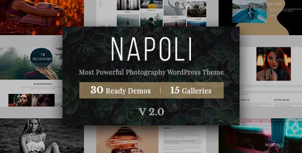Photography Napoli | Photography WordPress for photography - Photography Creative