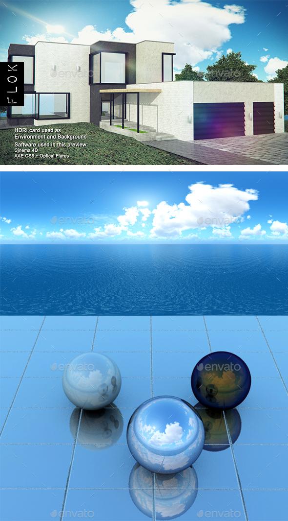 Daylight Sea 14 - 3DOcean Item for Sale