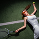 Beautiful woman with a racket - PhotoDune Item for Sale