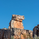 Rock formation with human face on Lots Wife hiking trail - PhotoDune Item for Sale