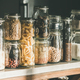 Free Download Rustic kitchen food storage arrangement over kitchen counter Nulled